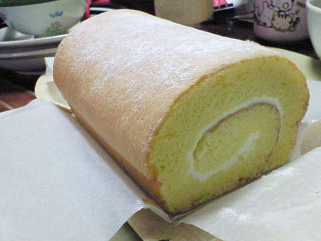 B−speakのロールケーキ
